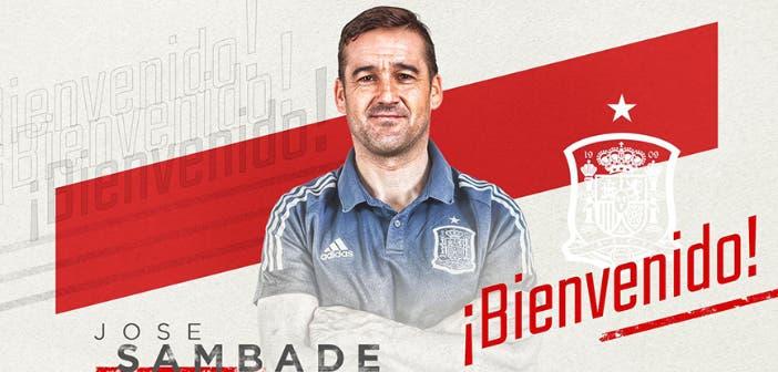 José Sambade entrenador de porteros de la Selección Española
