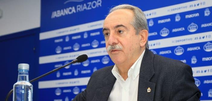 """Couceiro: """"Pase lo que pase, el proyecto del Deportivo tiene la viabilidad garantizada"""""""