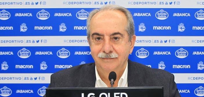 Antonio Couceiro presidente del Deportivo