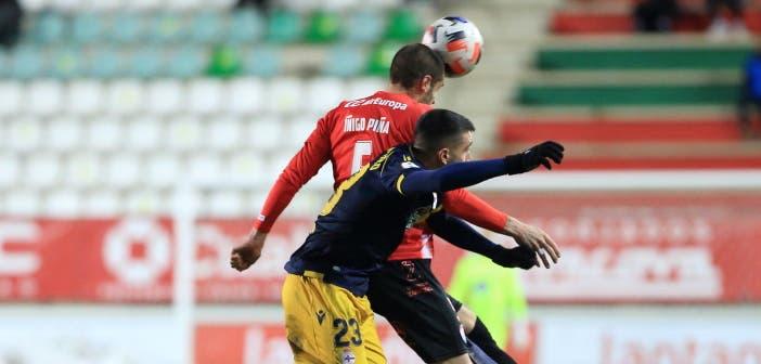 Piña en un partido con el Zamora