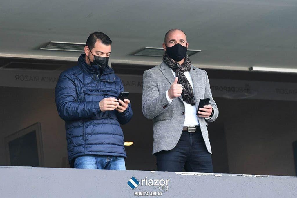 Walter Pandiani en el Deportivo vs Zamora