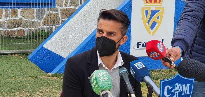 Rubén de la Barrera con el Deportivo
