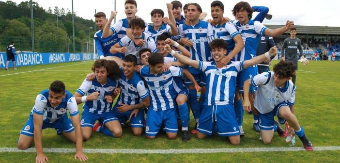 El Deportivo Juvenil, que disputará la UEFA Youth League