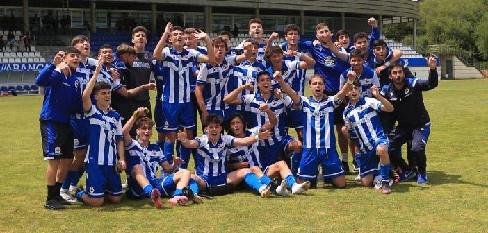 Deportivo Juvenil vs UD Las Palmas horario donde y cómo ver