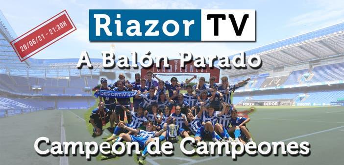 Deportivo Juvenil copa campeones en directo