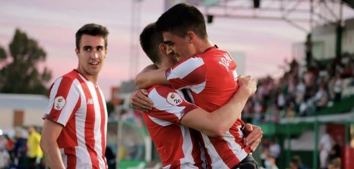 El Bilbao Athletic, uno de los rivales del Deportivo en Pimera RFEF