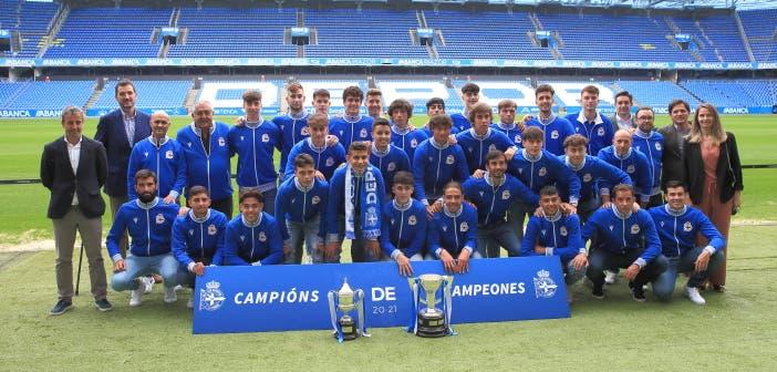 El Deportivo jugará la Youth League como campeón nacional