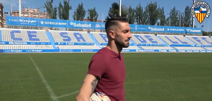 Ian Mackay se despide del Sabadell tras firmar por el Deportivo