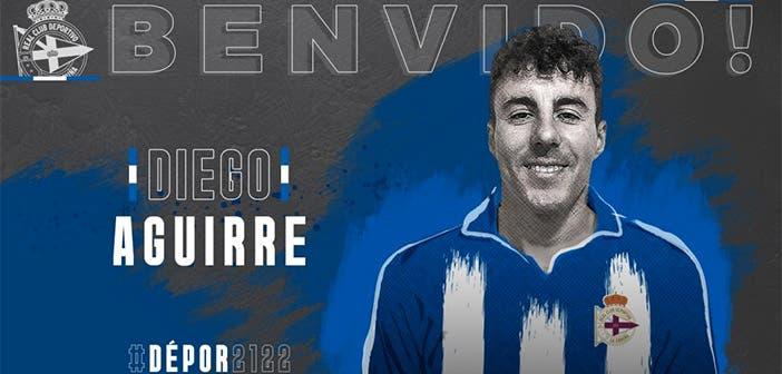 Diego Aguirre, nuevo fichaje del Deportivo