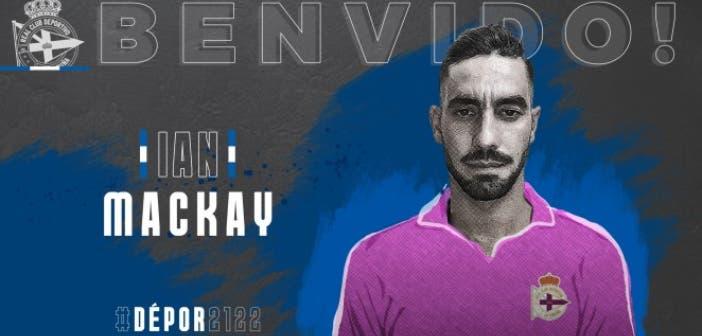 Ian Mackay nuevo portero del Deportivo