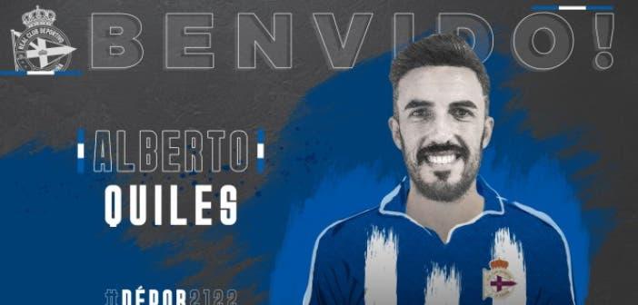 Alberto Quiles nuevo jugador del Deportivo