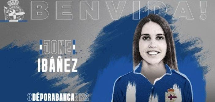 Jone Ibáñez, nueva jugadora del Dépor ABANCA