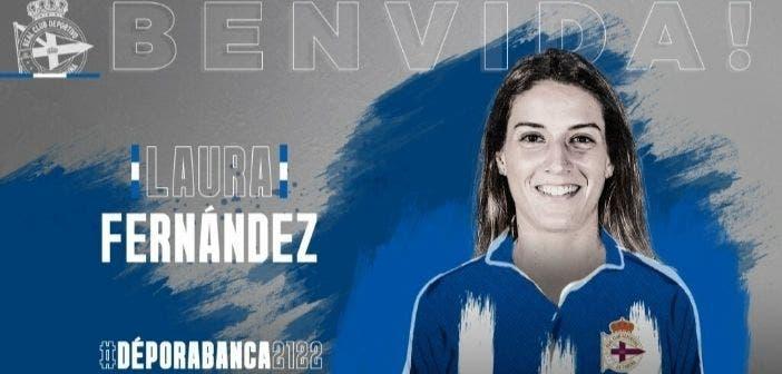 Laura Fernández, nueva jugadora del Dépor ABANCA