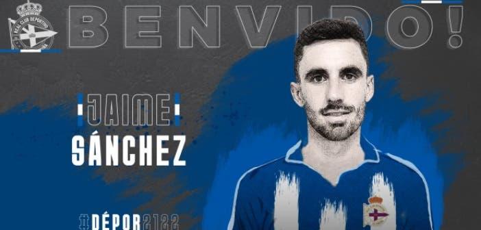 Jaime Sánchez es nuevo jugador del Deportivo
