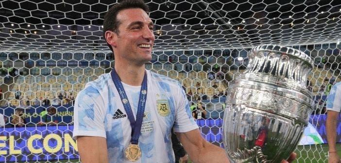 Scaloni gana la Copa América con Argentina