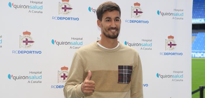 Pablo Trigueros estuvo en la Ponferradina como Juergen Elitim