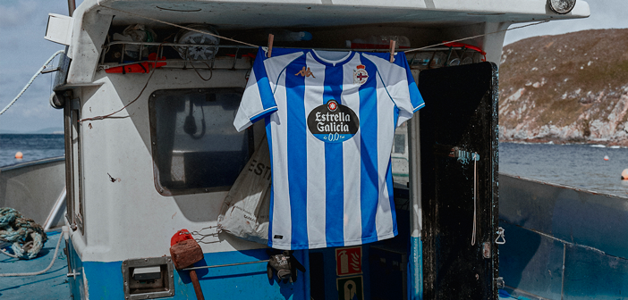 Camiseta del Deportivo temporada 21/22