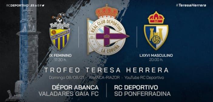 El Deportivo ya conoce su cartel para el Teresa Herrera