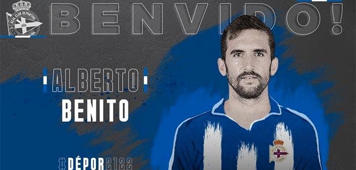 Alberto Benito, nuevo jugador del Deportivo