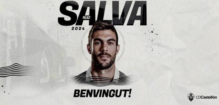 Salva Ruiz, nuevo jugador del Castellón tras rescindir con el Deportivo