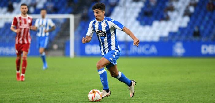 Diego Aguirre puede ser una de las novedades en la alineación del Deportivo vs Badajoz