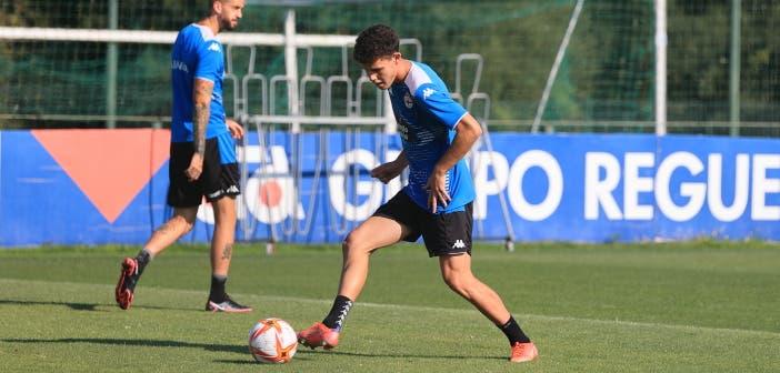 Trilli ya trabaja con normalidad con el Deportivo