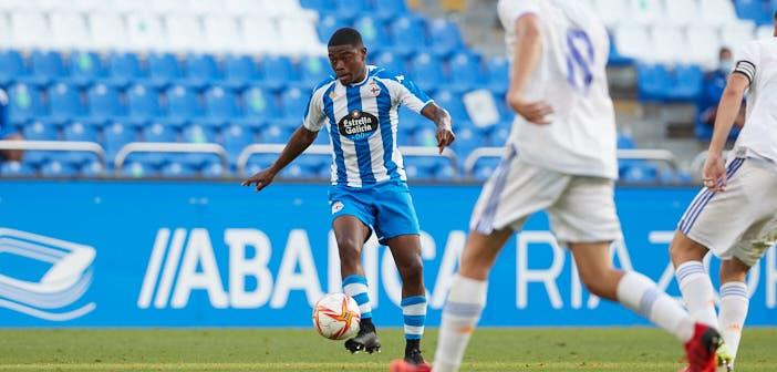 William de Camargo en la convocatoria para el Deportivo vs Pontevedra