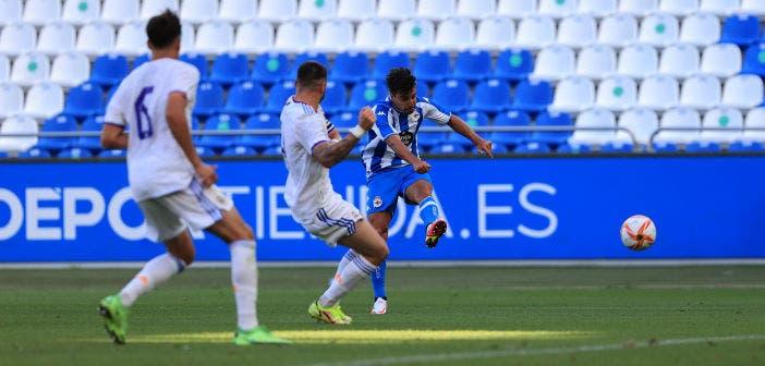 Deportivo vs Real Madrid Castilla