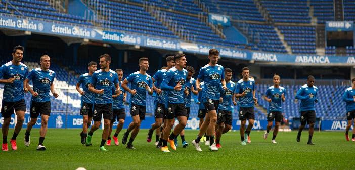 Borja Jiménez facilitó la convocatoria del Deportivo ante el Celta B