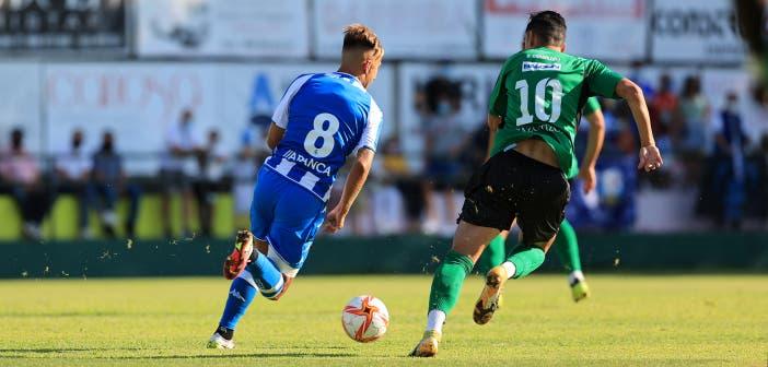 Yago Gandoy en el Arenteiro vs Deportivo