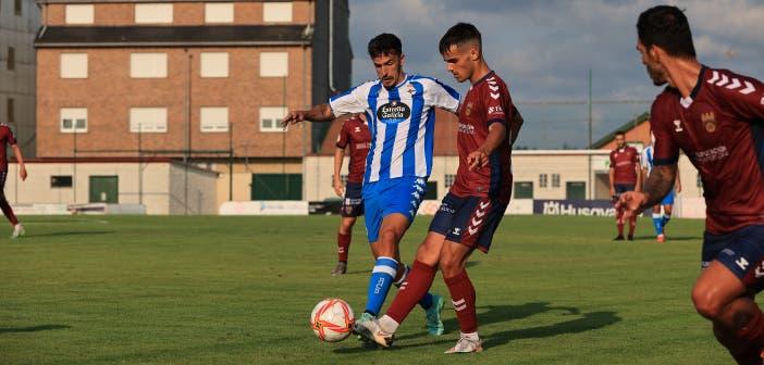 Quiles en el amistoso contra el Pontevedra