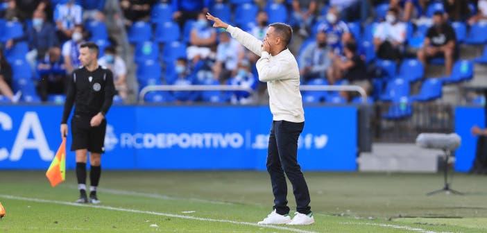 Borja Jiménez avisa de la dificultad del Unionistas vs Deportivo
