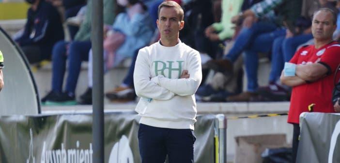 Borja Jiménez en el Unionistas vs Deportivo
