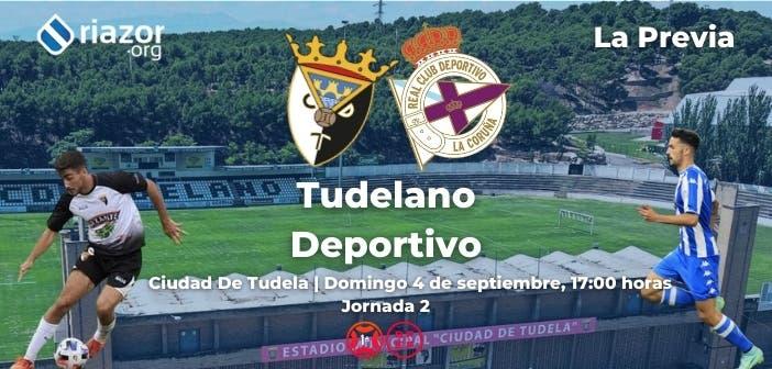 Previa Tudelano vs Deportivo Primera RFEF