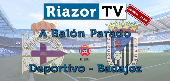 pospartido Deportivo vs Badajoz en directo