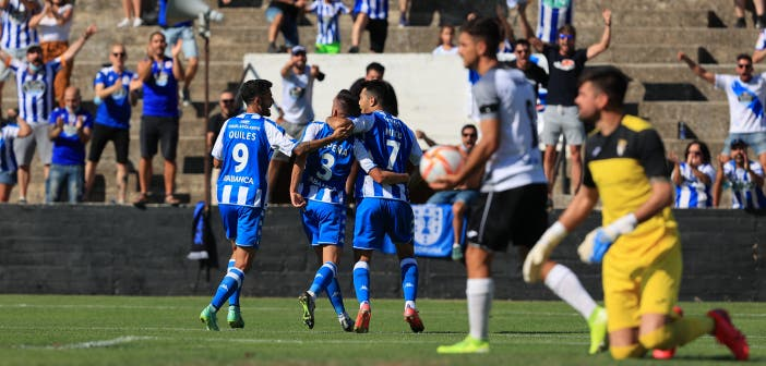 el Deportivo visita al Calahorra tras vencer al Tudelano