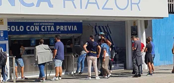 La afición del Deportivo agota las entradas para viajar a Salamanca