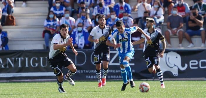 Diego Villares en el Unionistas vs Deportivo