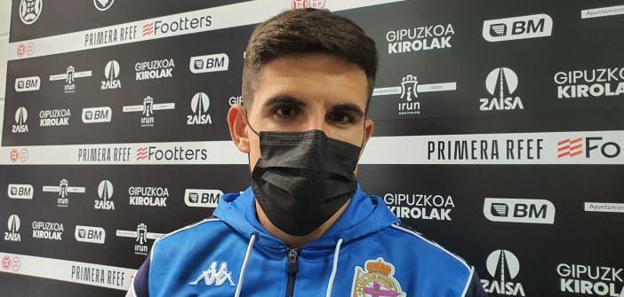 Víctor García tras el Real Unión vs Deportivo